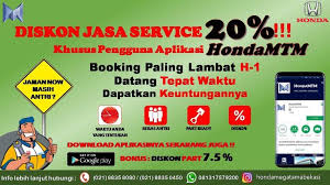 Booking Servis Honda