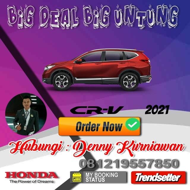 Promo Honda Crv Awal Tahun 2021
