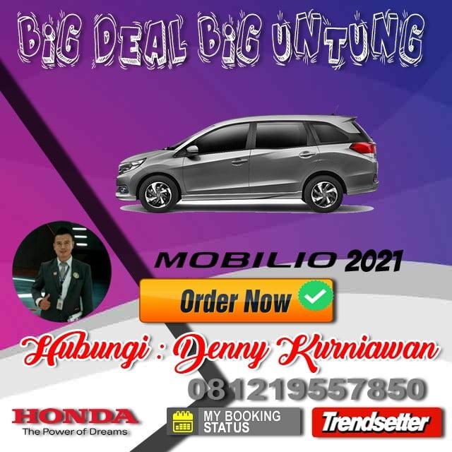 Promo Honda Mobilio Awal Tahun 2021