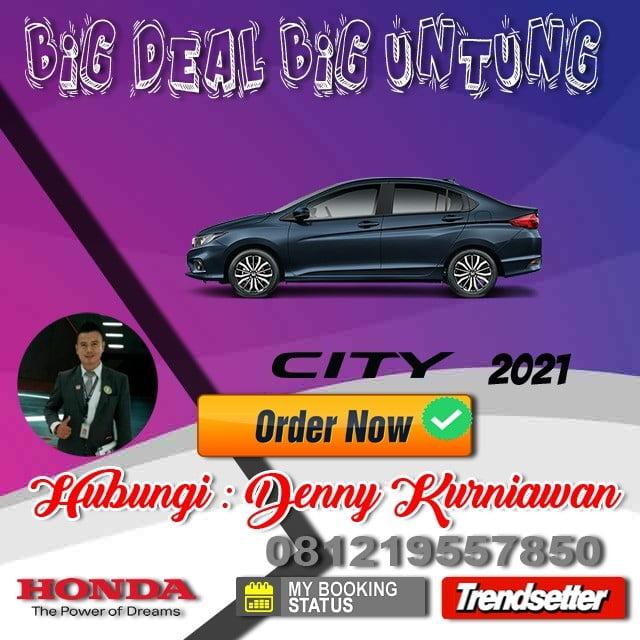 Promo Honda City Awal Tahun 2021
