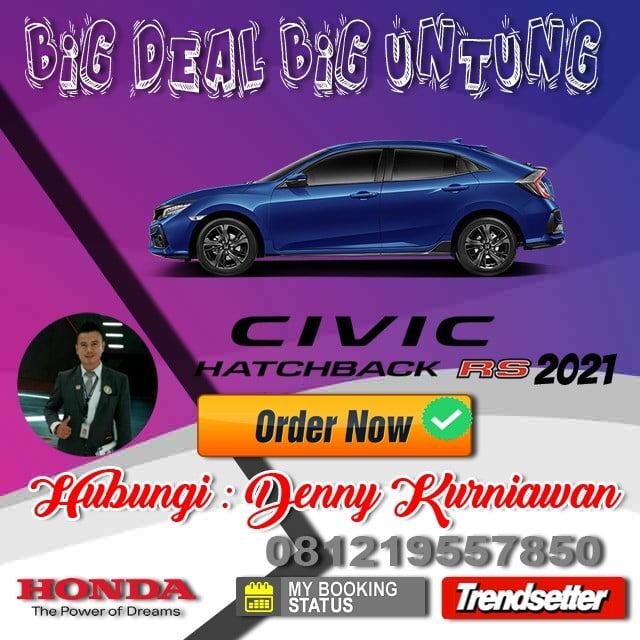 Promo Honda Civic Awal Tahun 2021