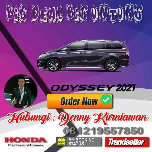 Promo Honda Odyssey Awal Tahun 2021