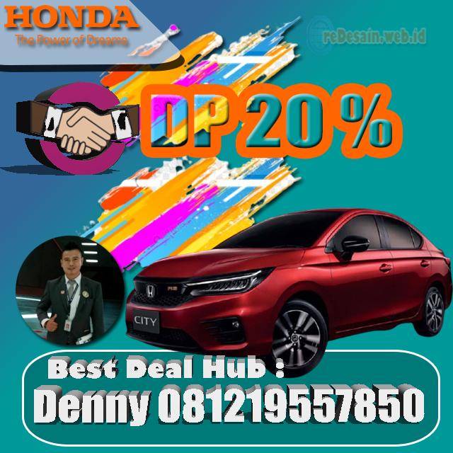 Promo Mobil Honda City Hatchback Rs 2021