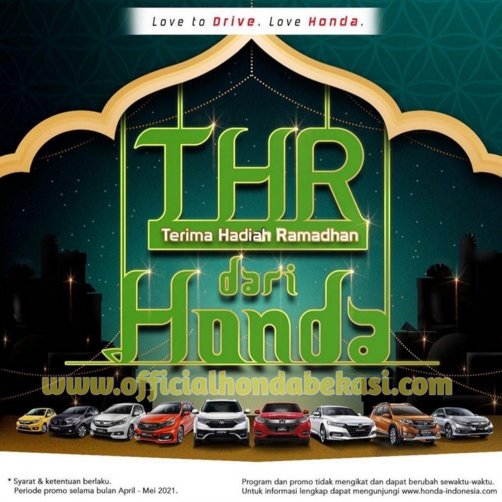 Promo Honda THR Lebaran 2021